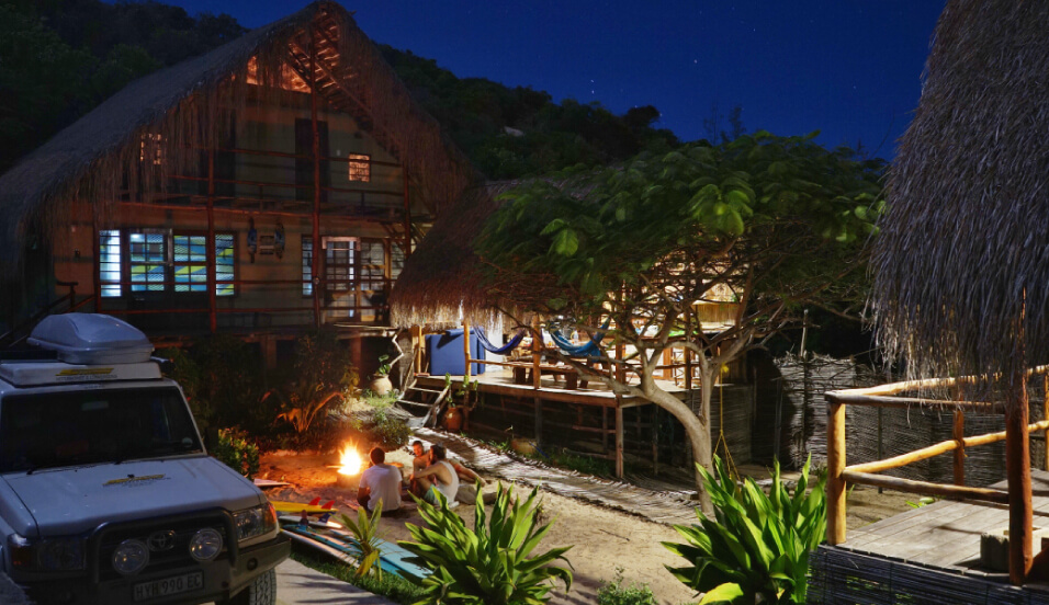 Case Surf Lodge - Tofo